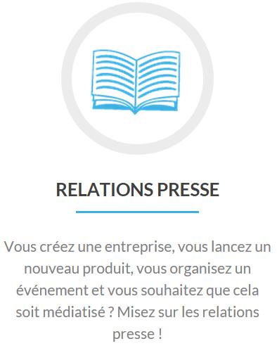 prestations relations presse