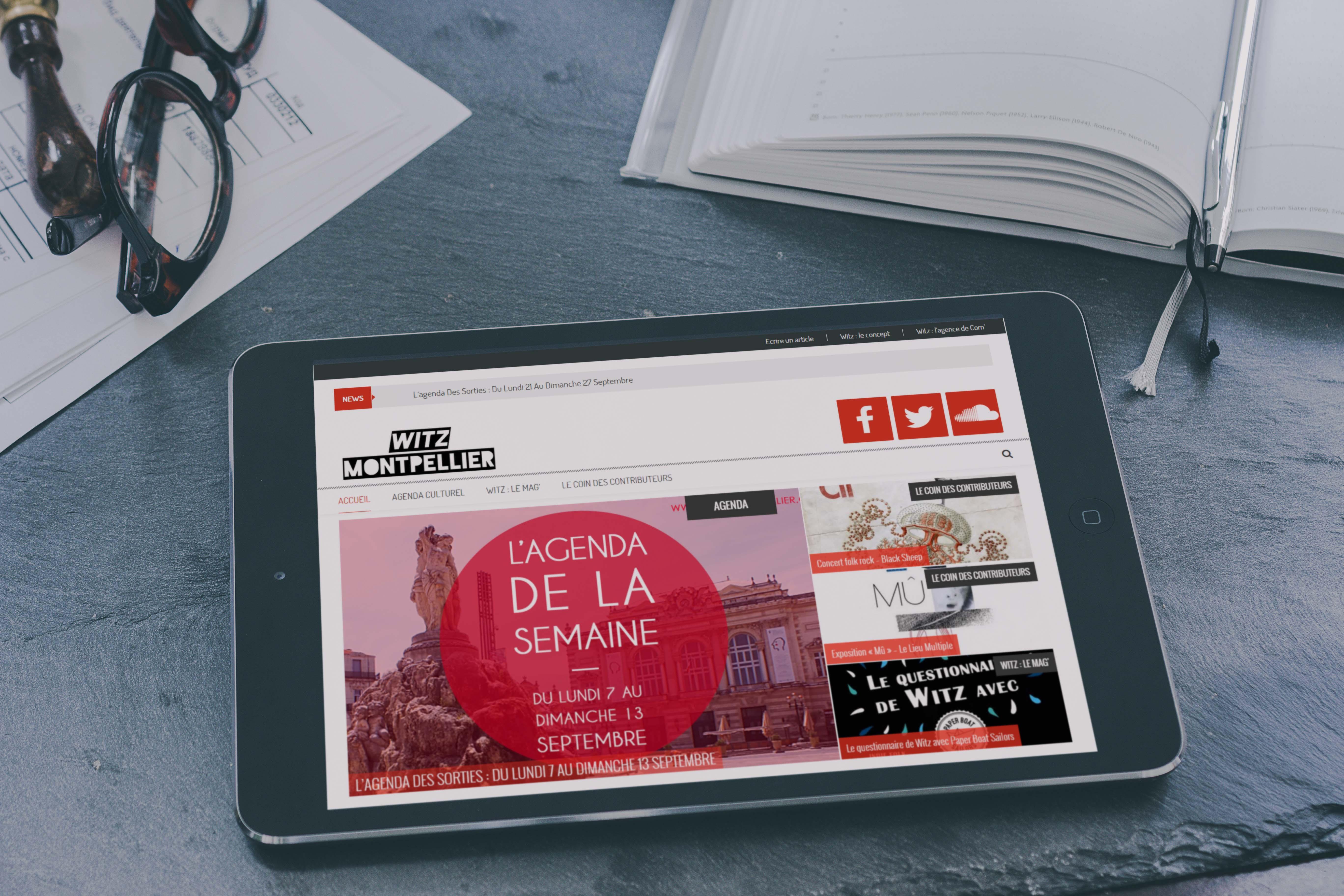 Création site web Witz Montpellier