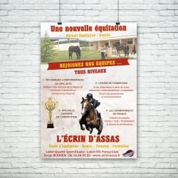 Flyer Centre équestre Ecrin d'Assas