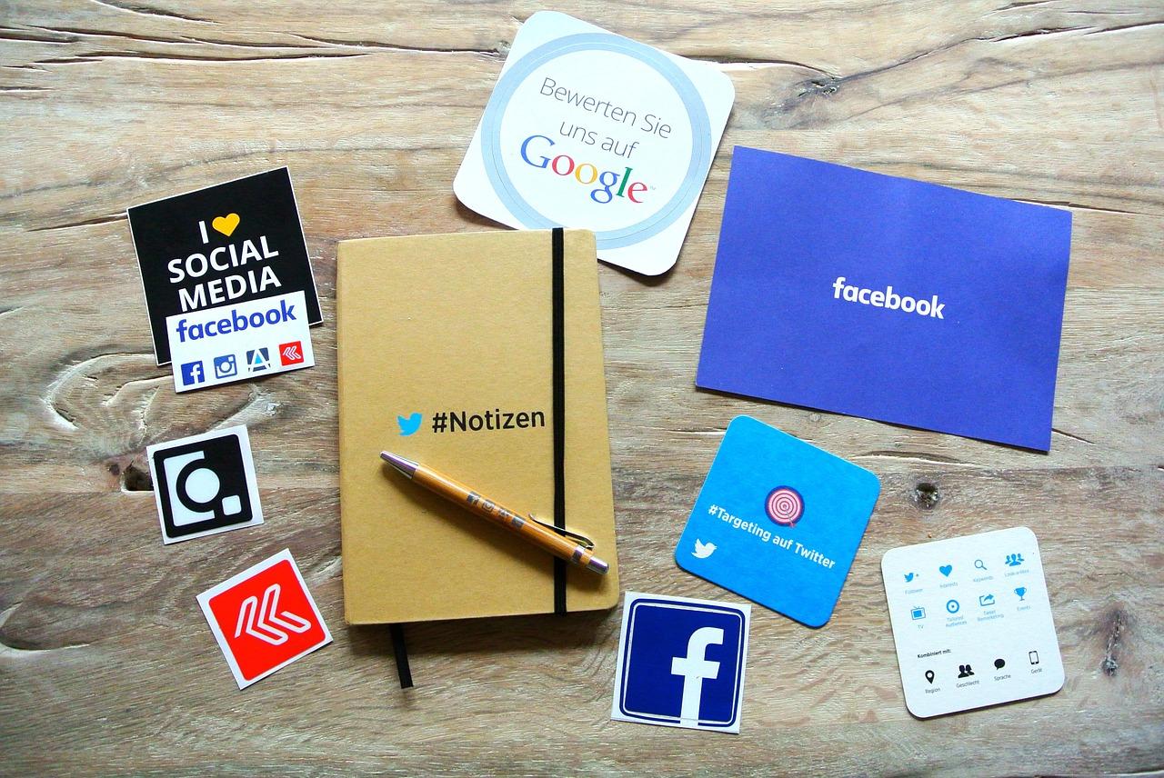 réseaux sociaux entreprises tpe pmefacebook twitter google + linkedin pinterest