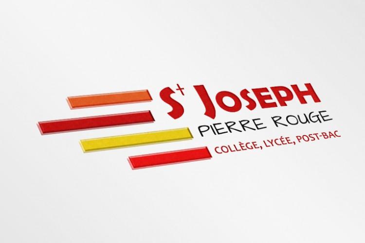 Création identité visuelle - Campus St Joseph Pierre Rouge