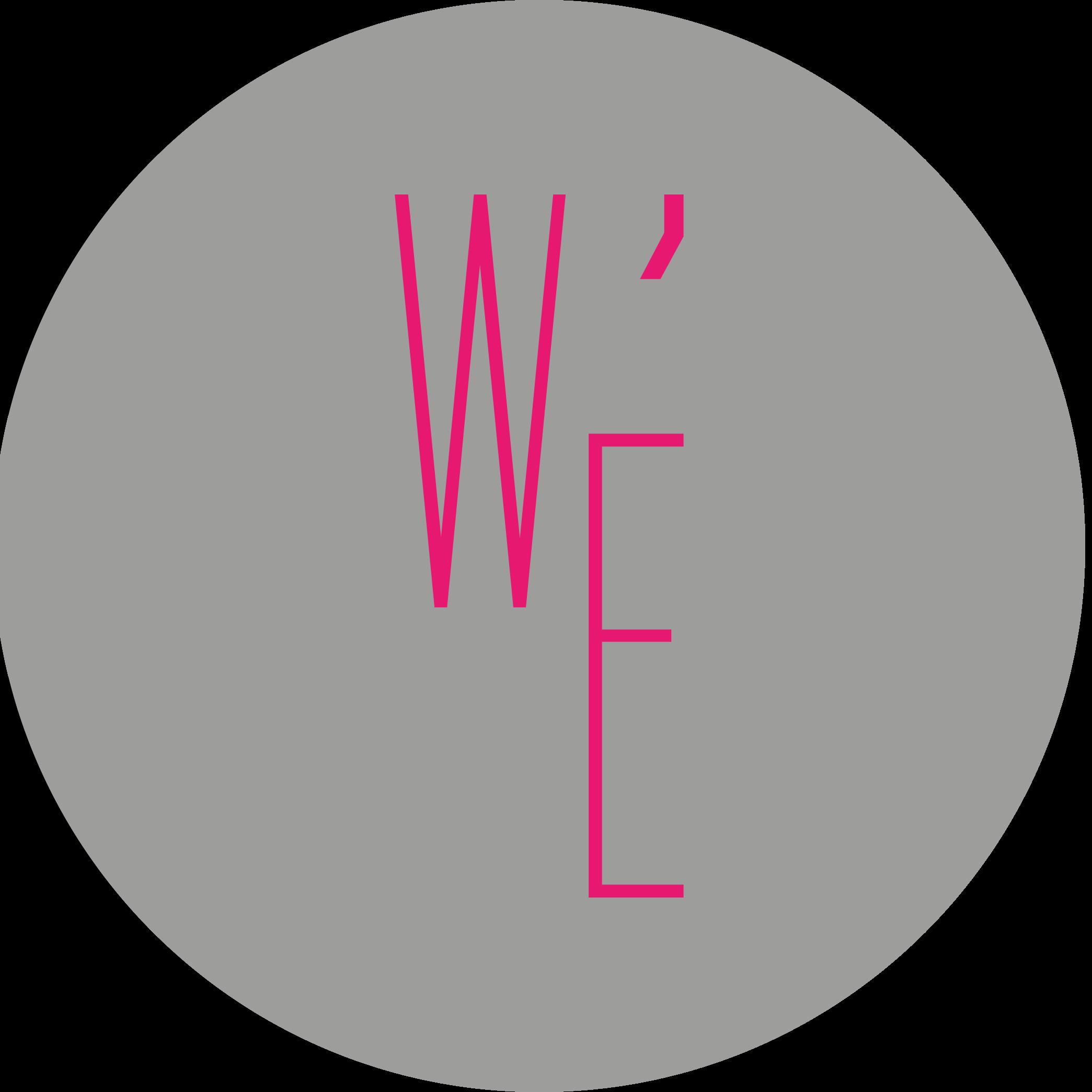 logo W'E